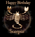 Happy Birthday Scorpio