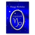 Happy Birthday Capricorn