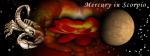 Mercury in Scorpio 3