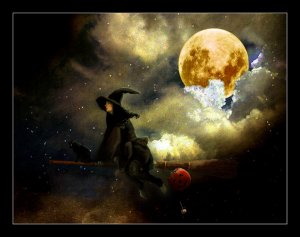 Witch on Broom FM