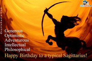 Happy Birthday Sagittarius 2