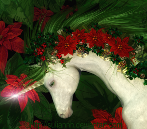 Yuletide Unicorn