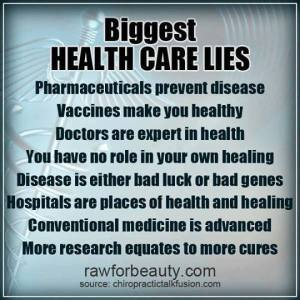 Healthcare Lies