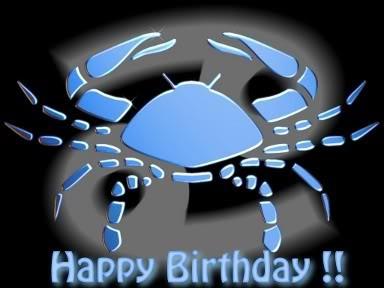 Happy Birthday Cancer 3