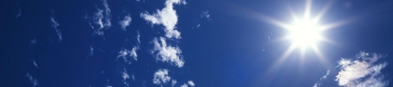 Summer Sun Banner