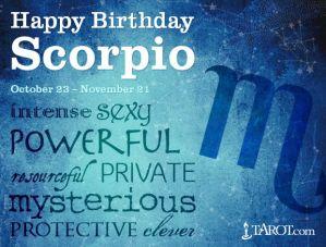 Happy Birthday Scorpio 4