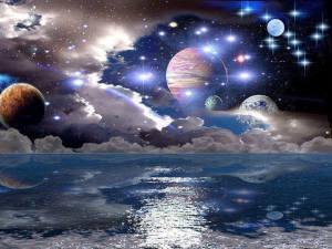 Celestial Background