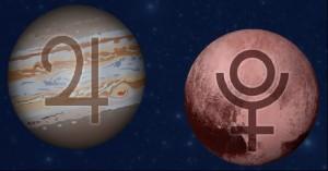 Jupiter conjunct Pluto 2