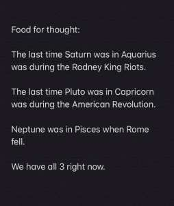 Retrograde Planets & History