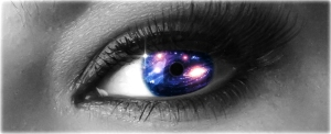 Eye with Universe